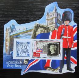Poštovní známka Svatý Tomáš 2015 2015 Penny Black Mi# Block 1070