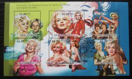 Poštovní známky Mosambik 2012 Marilyn Monroe Mi# 5617-22 Kat 14€