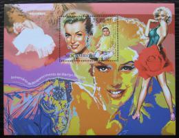 Poštovní známka Mosambik 2012 Marilyn Monroe Mi# Block 606 Kat 10€