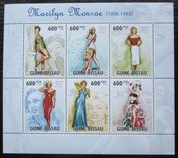 Poštovní známky Guinea-Bissau 2010 Marilyn Monroe Mi# 4849-54 Kat 14€