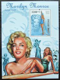 Poštovní známka Guinea-Bissau 2010 Marilyn Monroe Mi# Block 813 Kat 13€