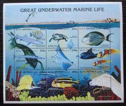 Poštovní známky Eritrea 1997 Moøská fauna TOP SET Mi# 157-65 Kat 11€