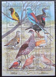 Poštovní známky Eritrea 1998 Ptáci TOP SET Mi# 168-76 Kat 12€