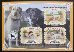 Poštovní známky Gabon 2019 Psi Mi# N/N