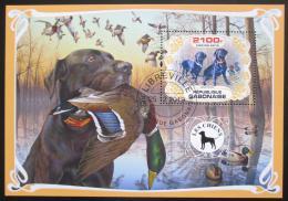 Poštovní známka Gabon 2019 Psi Mi# N/N