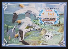 Poštovní známka Gabon 2019 Moøští ptáci Mi# N/N