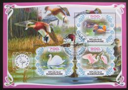 Poštovní známky Gabon 2019 Vodní ptáci Mi# N/N