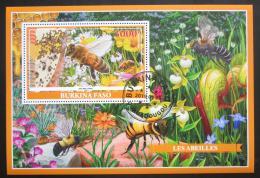 Poštovní známka Burkina Faso 2019 Vèely Mi# N/N