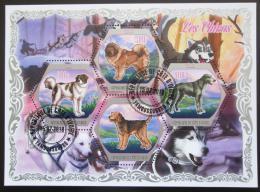 Poštovní známky Pobøeží Slonoviny 2018 Psi Mi# N/N