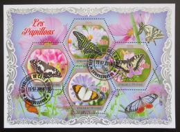 Poštovní známky Pobøeží Slonoviny 2018 Motýli Mi# N/N
