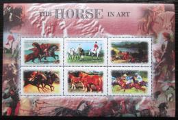 Poštovní známky Gambie 2000 Konì a umìní Mi# 3876-81 Kat 11€