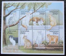 Poštovní známky Tanzánie 1999 Koèky Mi# 3398-3405