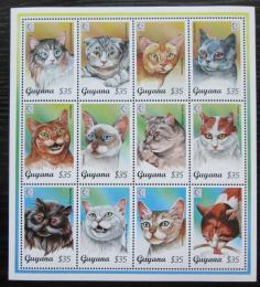 Poštovní známky Guyana 1995 Koèky Mi# 5148-59 Kat 11€