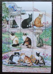 Poštovní známky Guyana 1996 Koèky Mi# 5671-79