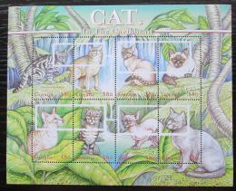 Poštovní známky Guyana 2001 Koèky Mi# 7136-43 Kat 11€