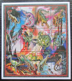 Poštovní známky Guyana 1996 Dinosauøi Mi# 5486-97 Kat 15€