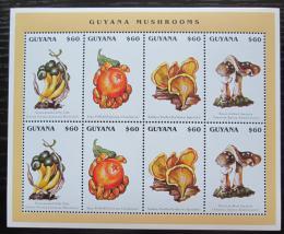 Poštovní známky Guyana 1996 Houby Mi# 5542-45 Bogen Kat 14€