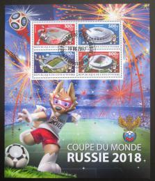 Poštovní známky Pobøeží Slonoviny 2017 MS ve fotbale Mi# N/N