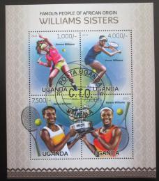 Poštovní známky Uganda 2013 Tenis, sestry Williamsovy Mi# 3060-63 Kat 24€