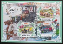 Poštovní známky Gabon 2019 Historické automobily Mi# N/N