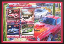 Poštovní známky Burkina Faso 2019 Klasické automobily Mi# N/N