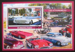 Poštovní známka Burkina Faso 2019 Klasické automobily Mi# N/N