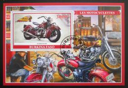 Poštovní známka Burkina Faso 2019 Motocykly Mi# N/N