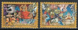 Poštovní známky Jugoslávie 1997 Evropa CEPT, legendy Mi# 2821-22 Kat 4€