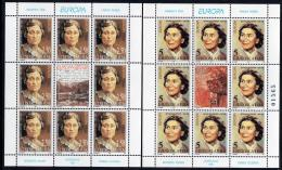 Poštovní známky Jugoslávie 1996 Evropa CEPT,slavné ženy Mi# 2777-78 Bogen Kat 35€