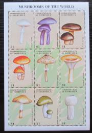 Poštovní známky Dominika 1998 Houby Mi# 2477-85 Kat 10€