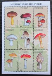 Poštovní známky Dominika 1998 Houby Mi# 2486-94 Kat 10€