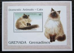 Poštovní známka Grenada Gren. 1995 Koèky Mi# Block 318 Kat 7€