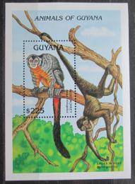 Poštovní známka Guyana 1992 Mirikina obecná Mi# Block 202 Kat 10€