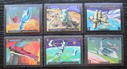 Poštovní známky Adžmán 1972 Prùzkum vesmíru Mi# 1298-1303