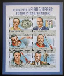 Poštovní známky Mosambik 2013 Alan Shepard, kosmonaut Mi# 6616-21 Kat 10€