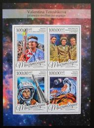 Poštovní známky Mosambik 2016 Valentina Tìreškovová Mi# 8714-17 Kat 22€