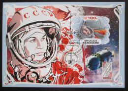 Poštovní známka Gabon 2019 Valentina Tìreškovová Mi# N/N