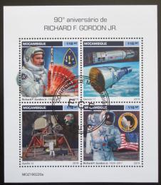 Poštovní známky Mosambik 2019 Richard F. Gordon Mi# N/N