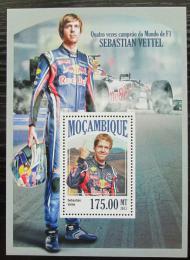 Poštovní známka Mosambik 2013 Formule 1, Sebastian Vettel Mi# Block 852 Kat 10€
