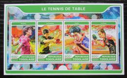 Poštovní známky Togo 2017 Stolní tenis Mi# 8144-47 Kat 13€