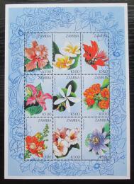 Poštovní známky Gambie 1998 Kvìtiny Mi# 770-78 Kat 16€