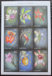 Poštovní známky Lesotho 1999 Orchideje Mi# 1491-99 Kat 9€