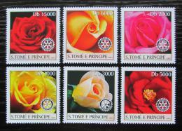 Poštovní známky Svatý Tomáš 2003 Rùže Mi# 2031-36 Kat 10€
