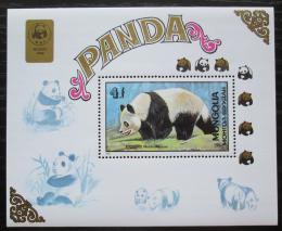 Poštovní známka Mongolsko 1898 Panda Mi# Block 134 Kat 14€