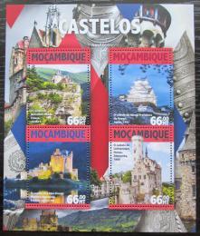 Poštovní známky Mosambik 2016 Hrady a zámky Mi# 8424-27 Kat 15€