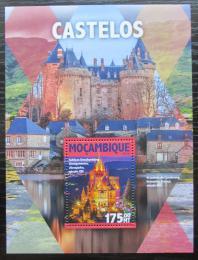 Poštovní známka Mosambik 2016 Hrady a zámky Mi# Block 1125 Kat 10€