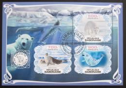 Poštovní známky Gabon 2019 Fauna Antarktidy Mi# N/N