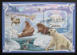 Poštovní známka Gabon 2019 Fauna Antarktidy Mi# N/N