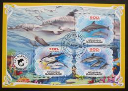 Poštovní známky Gabon 2019 Delfíni Mi# N/N