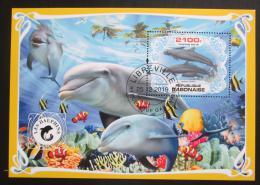 Poštovní známka Gabon 2019 Delfíni Mi# N/N
